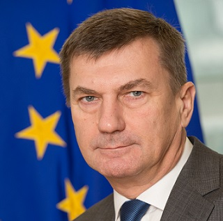Andrus Ansip, Vice-President of the EC in charge of Digital Single Market